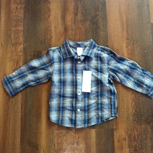 gymboree flannel